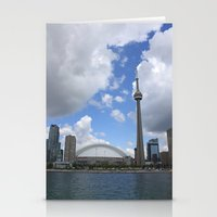 toronto Stationery Cards featuring Toronto by Rose&BumbleBee