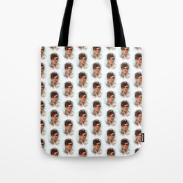 Trace of Tracer Pattern Tote Bag