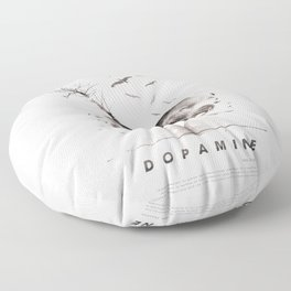 Dopamine | Collage Floor Pillow