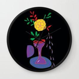 Vivid Still Life Wall Clock
