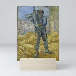 The Thresher (after Millet) Mini Art Print