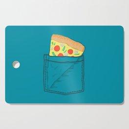 Emergency supply - pocket pizza Cutting Board