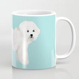 Bichon Frise dog breed funny dog fart Coffee Mug