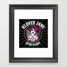 KLOVER JANE Framed Art Print