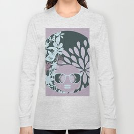 Afro Diva : Sophisticated Lady Pastel Long Sleeve T-shirt