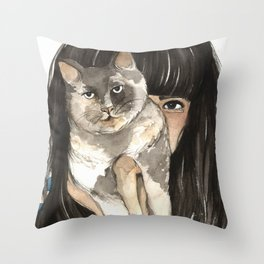 Patislene Throw Pillow