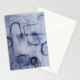 Glitch Paint Stationery Cards