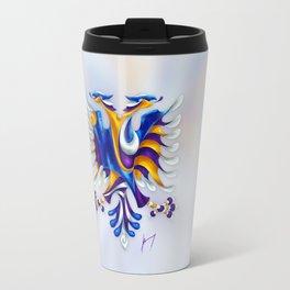 Kosovar (Albanian) Eagle Travel Mug