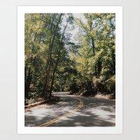 Gran Ellen Drive Art Print