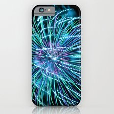 Teal New Year Slim Case iPhone 6