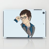 david tennant iPad Cases featuring Dr Who David Tennant by Hungry Designs