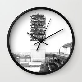 Architecture of Impossible_Spread Pavia Wall Clock