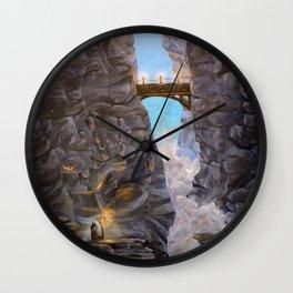 Cliff Side Wonders Wall Clock