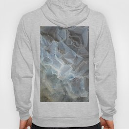 Crystal agate extreme closeup 0635 Hoody