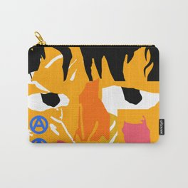 Abstract crying man Carry-All Pouch