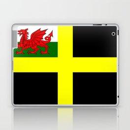 Flag of Saint David Laptop & iPad Skin