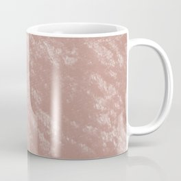Soft rose gold velvet Coffee Mug