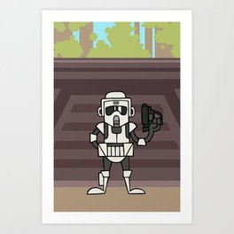 EP6 : Scout Trooper Art Print