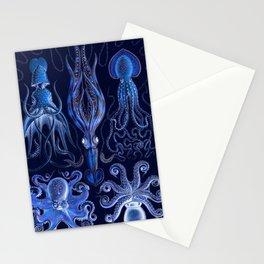 Haeckel Octopi Stationery Cards