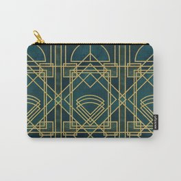 Art Deco Elegant Gatsby Style Carry-All Pouch