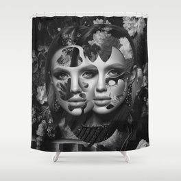 Your Facade Can't Disguise Shower Curtain