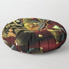 Last Call At Tikilandia Floor Pillow