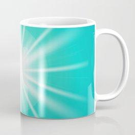 turquoise and light effect Coffee Mug