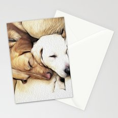 Let Sleeping Dogs Lie Stationery Cards