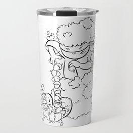 Ninja Master of Camouflage Travel Mug
