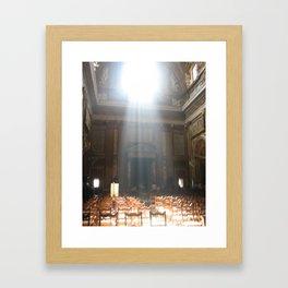 Talking to God Framed Art Print