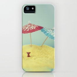 Doggy island iPhone Case
