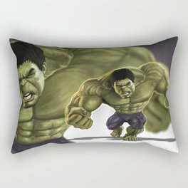 Caricature of Hulk  v2 Rectangular Pillow