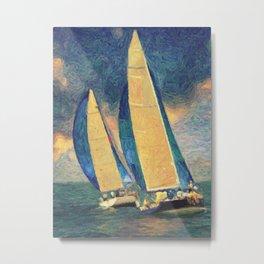 Costa Smeralda Metal Print