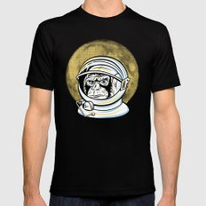 Space Ape Mens Fitted Tee Black LARGE