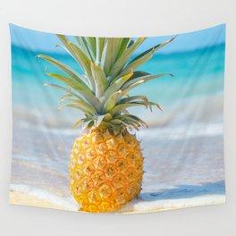 Aloha Pineapple Beach Kanahā Maui Hawaii Wall Tapestry