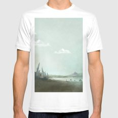 Archaeology of Dreams MEDIUM Mens Fitted Tee White