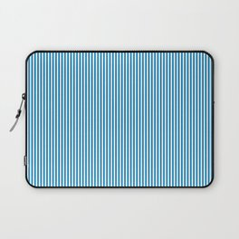 Blue Pinstripes Laptop Sleeve