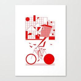 Bicycle I. Canvas Print