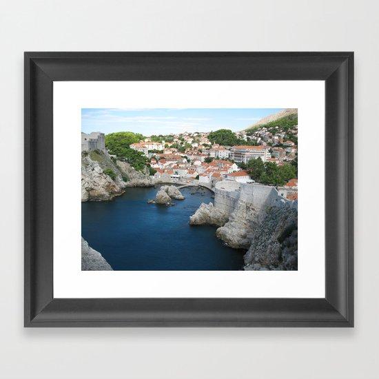 Dubrovnik Framed Art Print