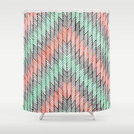 ZigZag Shower Curtain