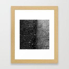Concrete sea Framed Art Print
