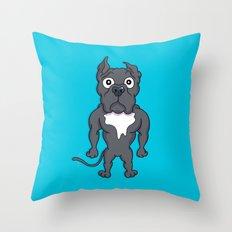 Bluie Throw Pillow