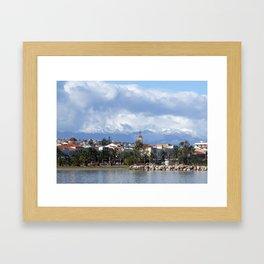 Rethymnon Crete Greece Framed Art Print