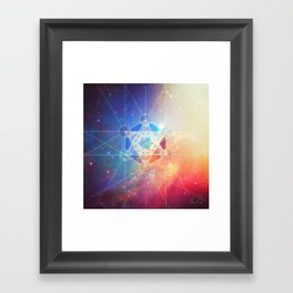 Box of the Universe Framed Art Print