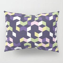 Floral Fantasies Chevron Pillow Sham
