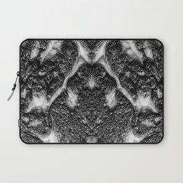 Mamba  Chief - Black and White Abstract Artwork Laptop Sleeve