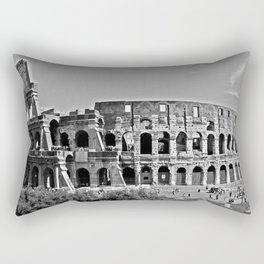 Roman Coloseum Full Frontal Rectangular Pillow