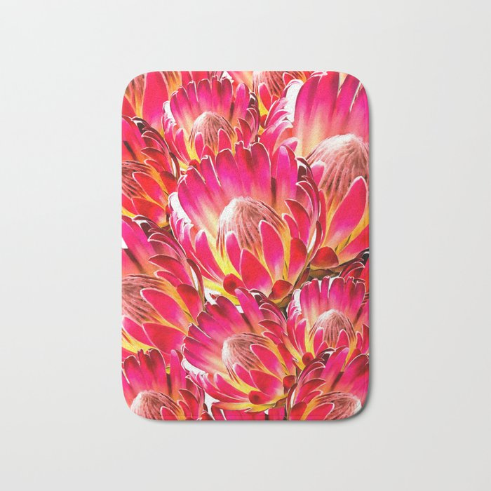 Pink Flower 9 Bath Mat