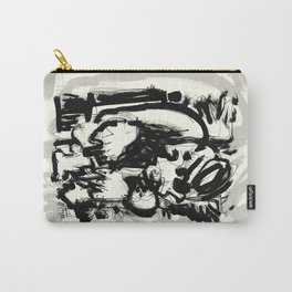 Saint With Bird Carry-All Pouch