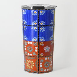"""Country Patchwork (ii)"" by ICA PAVON Travel Mug"